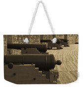 Cannons At Louisberg Fortress Weekender Tote Bag