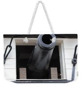 Cannons Uss Constellation  Weekender Tote Bag