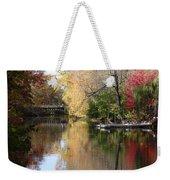 Canoe Weekender Tote Bag