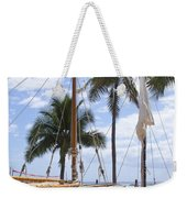 Canoes At Hui O Waa Lahaina Maui Hawaii Weekender Tote Bag