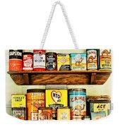 Cans Of Old Weekender Tote Bag