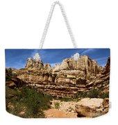 Canyon Castle Weekender Tote Bag