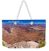 Canyon In Canyonlands Weekender Tote Bag