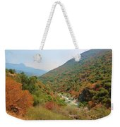 Canyon Stream Weekender Tote Bag