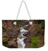 Canyon Stream Weekender Tote Bag by Mike Reid