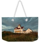 Cape Cod Coast Guard Station Weekender Tote Bag