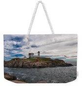 Cape Neddick Light Station Weekender Tote Bag