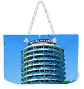 Capital Records Hollywood Weekender Tote Bag