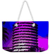 Capitol Records Building Weekender Tote Bag