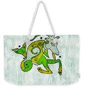 Capricorn Artwork Weekender Tote Bag