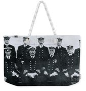Captain And Officers Of The Titanic Weekender Tote Bag