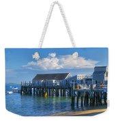 Captain Jack's Wharf Weekender Tote Bag