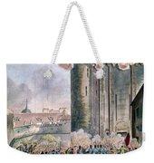 Capture Of The Bastille Weekender Tote Bag by Granger