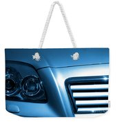 Car Face Weekender Tote Bag