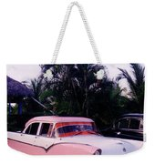 Car Show At The Resort Weekender Tote Bag