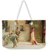 Caracalla Weekender Tote Bag by Sir Lawrence Alma-Tadema