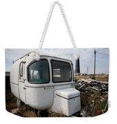 Caravan And Lighthouse Weekender Tote Bag