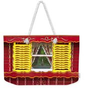 Caravan Window Weekender Tote Bag