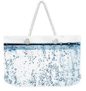Carbonated Water Weekender Tote Bag by Photo Researchers, Inc.