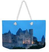 Carcassonne At Twilight Weekender Tote Bag