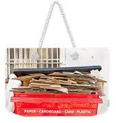 Cardboard  Weekender Tote Bag by Tom Gowanlock