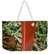 Cardinal Feather Weekender Tote Bag