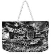 Carew Castle Pembrokeshire 4 Mono Weekender Tote Bag