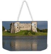 Carew Castle Reflections Weekender Tote Bag