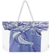 Carey Chen Mens Marlin Shirt Weekender Tote Bag