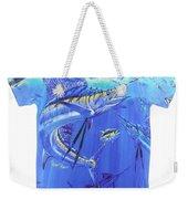 Carey Chen Mens Sailfish Shirt Weekender Tote Bag