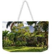 Caribbean Garden Weekender Tote Bag