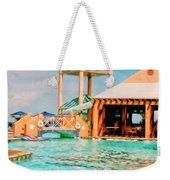 Caribbean-turks And Caicos Sandals Weekender Tote Bag