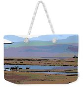 Caribou On The Move Weekender Tote Bag
