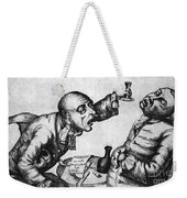 Caricature Of Two Alcoholics, 1773 Weekender Tote Bag