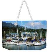 Carlingford Marina, Carlingford, County Weekender Tote Bag