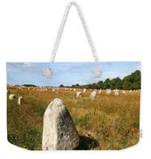 Carnac Standing Stones Weekender Tote Bag