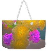 Carnation Glow Weekender Tote Bag