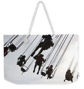 Carnival Goers Enjoy A Ride At An Weekender Tote Bag