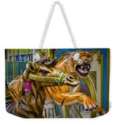 Carousal Camel And Tiger On A Merry-go-round Weekender Tote Bag
