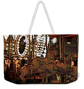 Carousel At Night Weekender Tote Bag