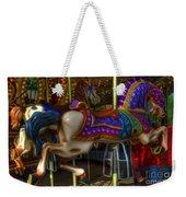 Carousel Beauties Going Away Weekender Tote Bag
