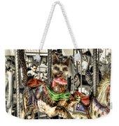 Carousel Cat Weekender Tote Bag