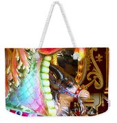 Carousel Dragon Weekender Tote Bag