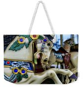 Carousel Horse 5 Weekender Tote Bag by Paul Ward