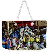 Carousel Horse 6 Weekender Tote Bag by Paul Ward