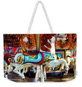 Carousel Horse With Fish Weekender Tote Bag