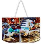 Carousel Horse With Leaves Weekender Tote Bag
