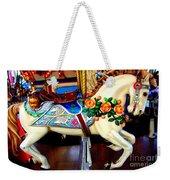 Carousel Horse With Roses Weekender Tote Bag