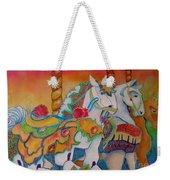 Carousel Of Horses Weekender Tote Bag