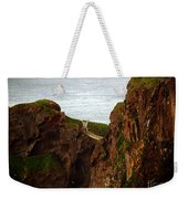 Carrick-a-rede Bridge II Weekender Tote Bag